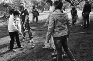 croquet melihovo2 300x198 Господин и дама играют в крокет